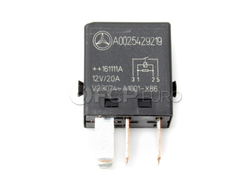 Mercedes Fuel Pump Relay - Genuine Mercedes 0025429219