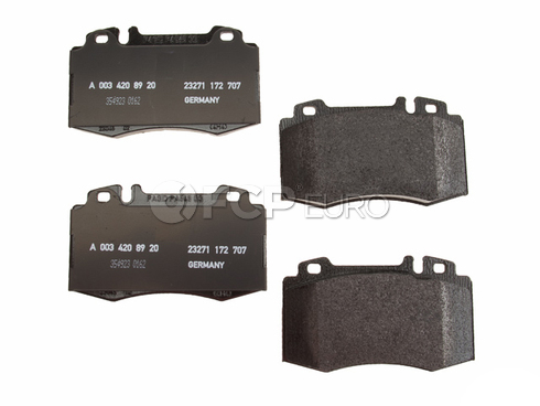 Mercedes Disc Brake Pad Front (CL500 S430 S500 SL500) - Genuine Mercedes 003420892041