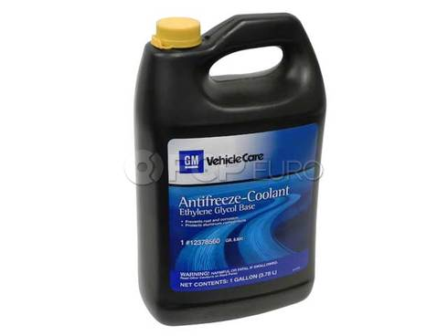 Saab Coolant/Antifreeze (1 Gallon) - Genuine Saab 12378560
