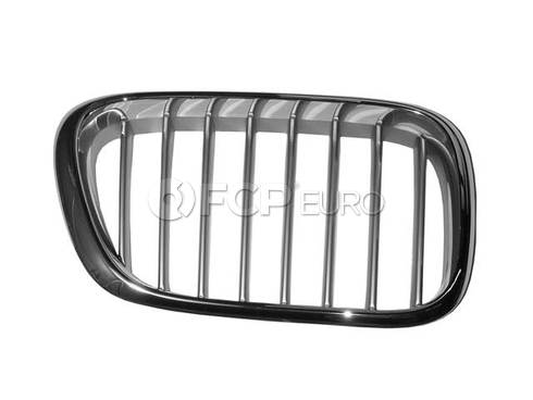 BMW Kidney Grille Right Titanium (X5) - Economy 51138250052