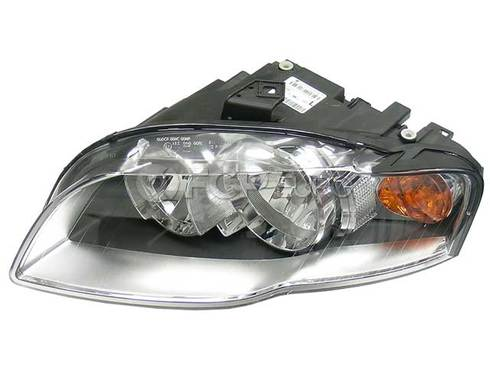 Audi Headlight Assembly Left (Halogen) - Magneti Marelli 8E0941003AL