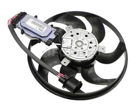 Porsche Audi VW Engine Cooling Fan Motor Left (Q7 Cayenne Touareg) - Behr 7L0959455F