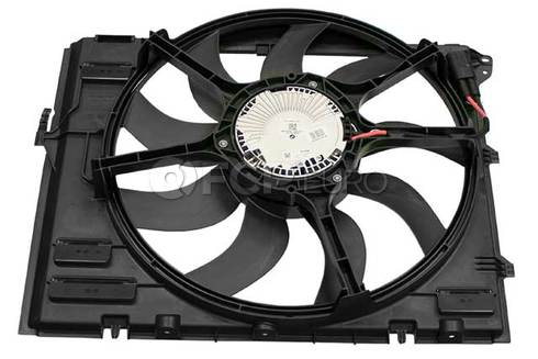 BMW Cooling Fan Assembly - Genuine BMW 17112283621