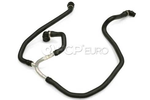BMW Engine Coolant Recovery Tank Hose Lower (535i 535i xDrive 535xi) - Genuine BMW 17127560973