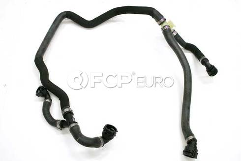 BMW Engine Coolant Recovery Tank Hose (X6 X5) - Genuine BMW 17127576371