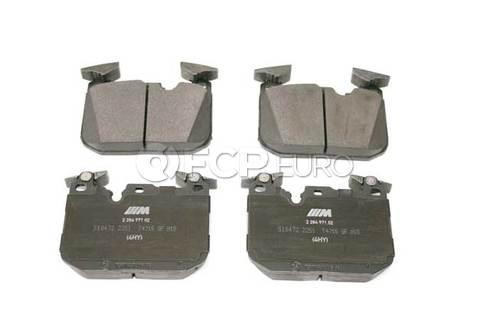 BMW Brake Pad Set (F80 F82 F83) - Genuine BMW 34112284969