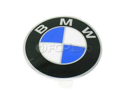 BMW Plaque With Adhesive Film (D=82mm) (2002 530i) - Genuine BMW 36131181104