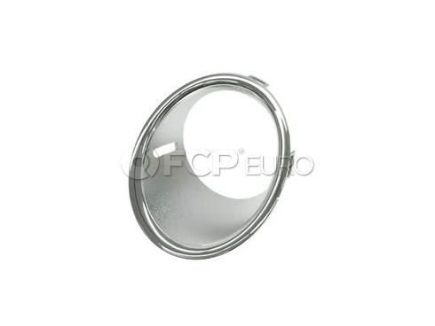 Mini Cooper Trim Ring Fog Lamp Left (Chrom) - Genuine Mini 51112753661