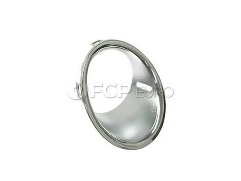 Mini Cooper Trim Ring Fog Lamp Right (Chrom) - Genuine Mini 51112753662