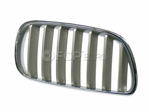 BMW Titanium Kidney Grille Right - Genuine BMW 51113420090