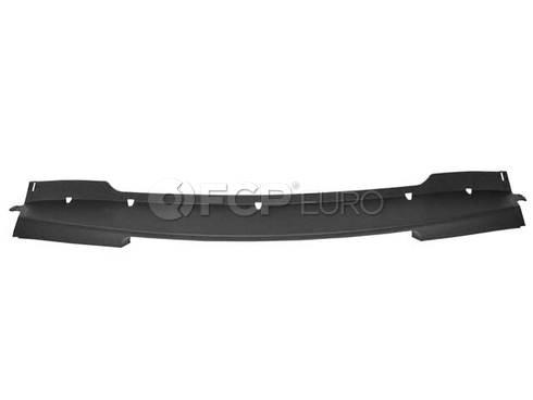 Mini Cooper Spoiler Centre (Black) - Genuine Mini 51116800135