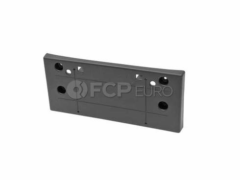 Mini Cooper Cover Registration Plate (Black) - Genuine Mini 51117030068