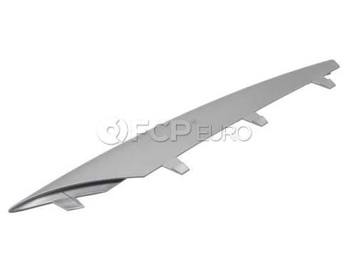 BMW Trim Bar Right (Alu Matt) (X5) - Genuine BMW 51117168924