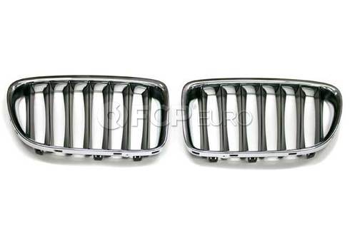 BMW Set Ornamental Grille Front (Basis) (X1) - Genuine BMW 51117347667