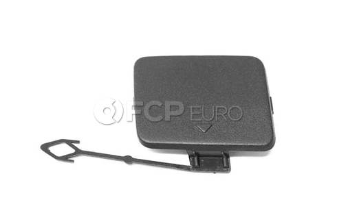 BMW Flap Towing Eye Right (Black Genarbt) (X5) - Genuine BMW 51127158448