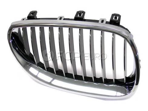 BMW Grille Right (Chrom) (525i 528i 530i) - Genuine BMW 51137065702