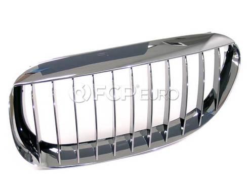 BMW Grille Left (Chrom) (645Ci 650i M6) - Genuine BMW 51137077931