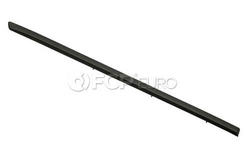 BMW Moulding Door Rear Right (Black) (X5) - Genuine BMW 51137158536
