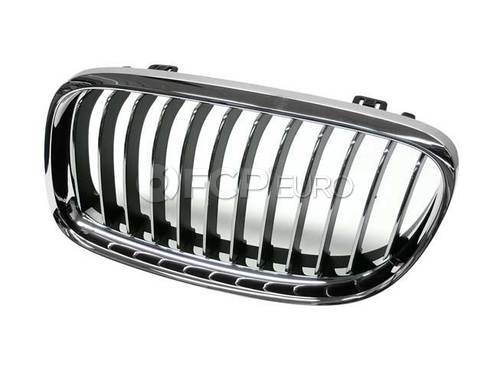 BMW Grille Left (Chrom) (328i 335d 335i) - Genuine BMW 51137201969