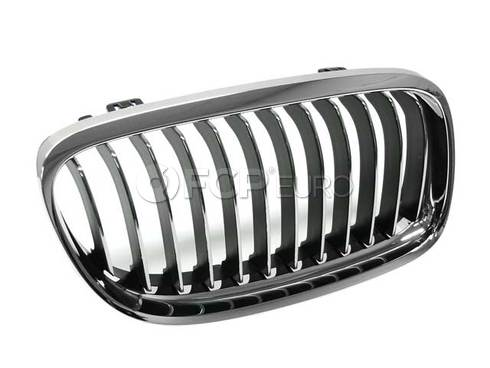 BMW Grille Right (Chrom) (328i 335d 335i) - Genuine BMW 51137201970