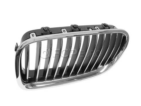BMW Kidney Grille Left (F10) (528i 528i xDrive 535i) - Genuine BMW 51137203649