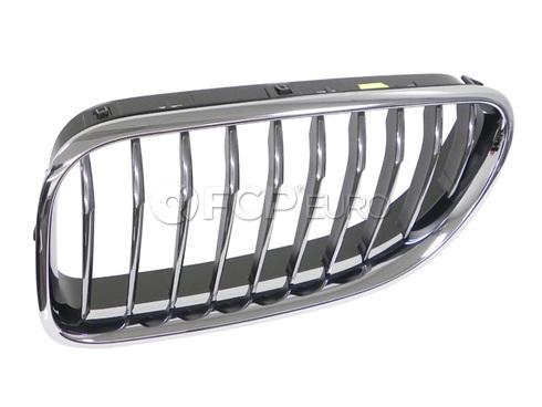 BMW Grille Front Left (640i 640i GC 640i xDrive) - Genuine BMW 51137211921