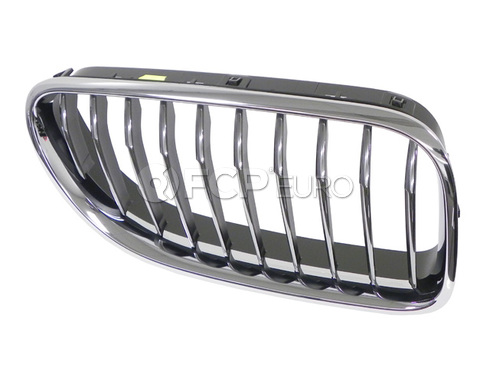 BMW Grille Front Right (640i 640i GC 650i) - Genuine BMW 51137211922