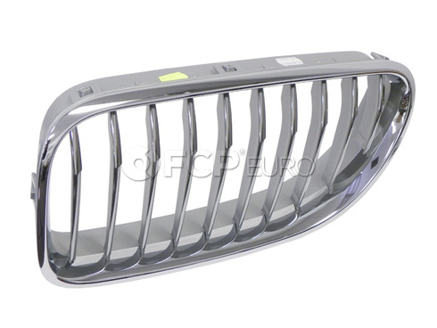 BMW Grille Front Left (650i 650i GC 650i xDrive) - Genuine BMW 51137212851