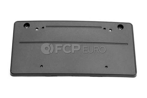 BMW License Plate Bracket Front (E70) (X5) - Genuine BMW 51137222741