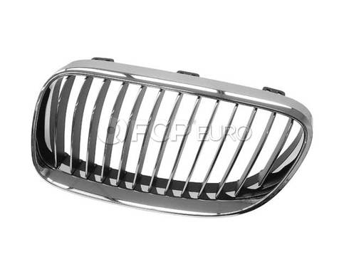 BMW Grille Chrome Left (Chrom) (328i 335i 335is) - Genuine BMW 51137254969