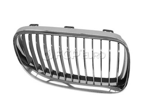 BMW Grille Chrome Right (Chrom) (328i 335i 335is) - Genuine BMW 51137254970