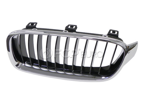 BMW Grille Front Left (Basis) (320i 328i 335i) - Genuine BMW 51137255411