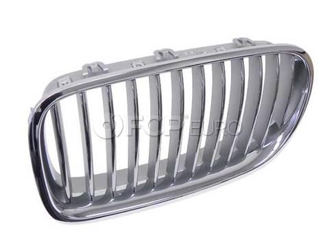 BMW Grille Front Left (Chrom) (550i 550i xDrive Active Hybrid 5) - Genuine BMW 51137261355