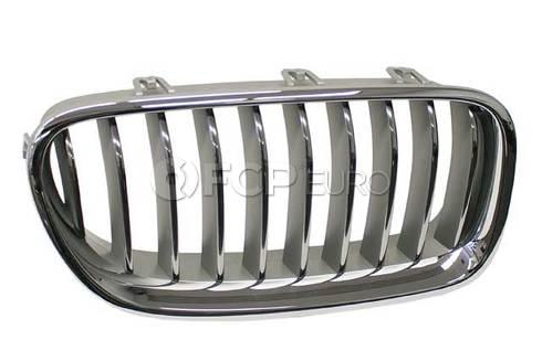 BMW Grille Front Right (Alu Matt) - Genuine BMW 51137412326