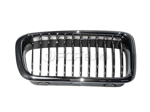 BMW Grille Right (Chrom) (740i 740iL 750iL) - Genuine BMW 51138231596