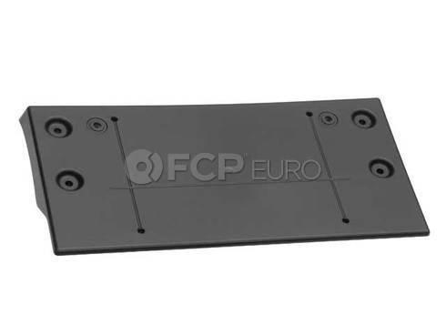 Mini Cooper Base Licence Plate Primed (Copper Countryman Copper Paceman) - Genuine Mini 51139801580