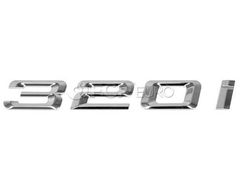 BMW Lettering (320i 320i xDrive) - Genuine BMW 51147289882