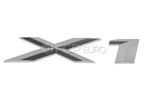 BMW Lettering (X1) - Genuine BMW 51147362539
