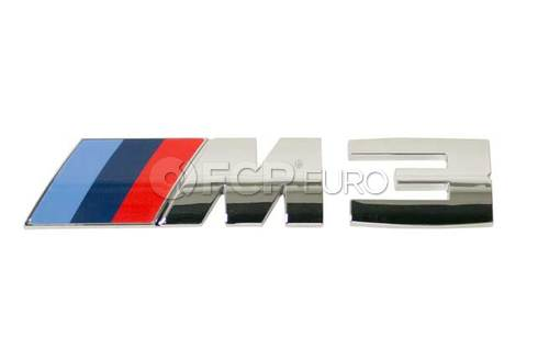 BMW M3 Emblem (M3) - Genuine BMW 51148055336