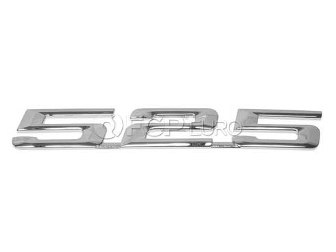 BMW Emblem Adhered (525i) - Genuine BMW 51148137275