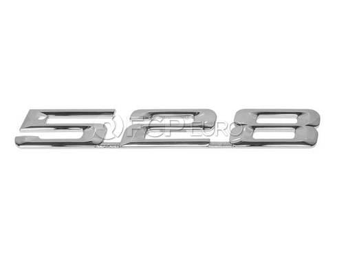 BMW Emblem Adhered (528i) - Genuine BMW 51148167687