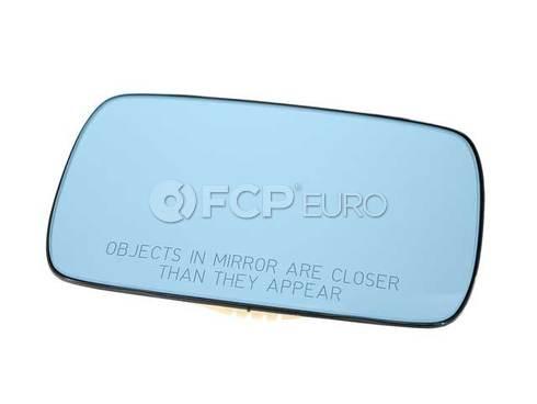 BMW Mirror Glass Plugged-In (318i 528i M3) - Genuine BMW 51161901175