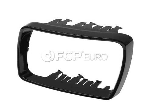 BMW Supporting Ring Left (Gloss Black) (X5) - Genuine BMW 51167002319