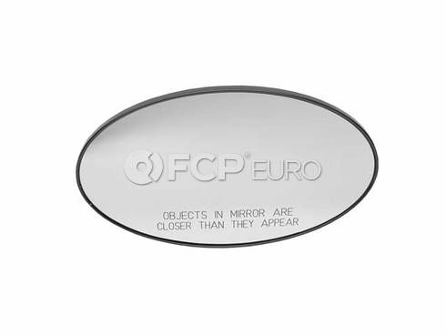 Mini Cooper Mirror Glas Convex Right (Cooper) - Genuine Mini 51167058048