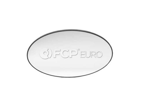Mini Cooper Mirror Glass Heated Plane Left (Cooper) - Genuine Mini 51167058063