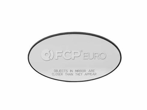 Mini Cooper Mirror Glass Heated Convex Right (Cooper) - Genuine Mini 51167058070