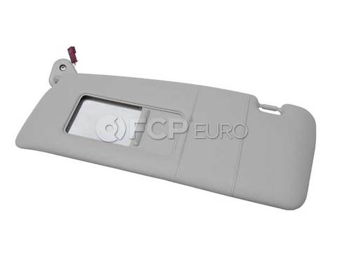 BMW Front Sun Visor Left (Gray) - Genuine BMW 51168237643