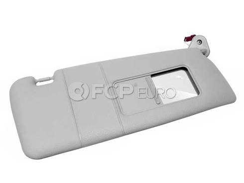BMW Front Sun Visor Right (Gray) - Genuine BMW 51168237644