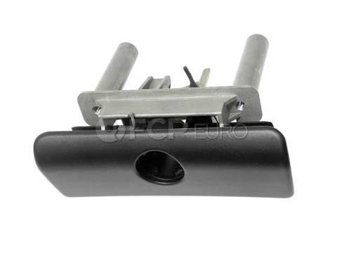 BMW Glove Box Lock Lower Part (Black) (525i 528i 540i) - Genuine BMW 51168254119