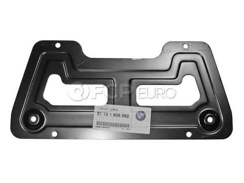 BMW Registration Plate Mounting (318i 525i 740i ) - Genuine BMW 51181908062